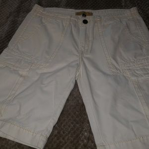 Mens all white shorts